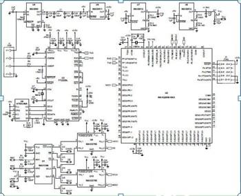 PC温度测量系统的设计方案电路图