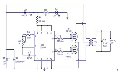 Lab3 further 160407  litude Modulation By Selective Transistor  lifier also Powersupply likewise 2049 besides Htm. on inverter circuit diagram