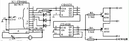 60HZ频率源电路图