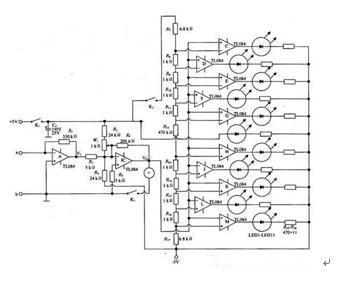 交直流杂散电压和杂散电流的电流检测仪原理电路图