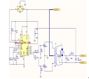 sg3525的应用电路图