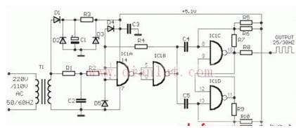 喇叭分频器的作用_一款能将不同频段的声音信号区分开来的分频器电路图-其它电路 ...