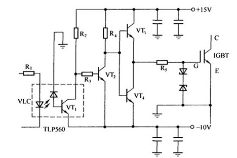 三菱变频器出现过电流故障电路图