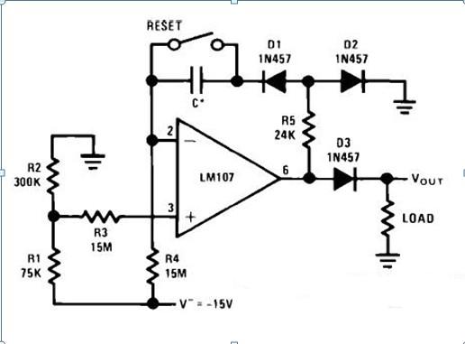 现多谐振荡器的555定时器电路图