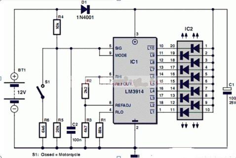 电池测试仪电路图