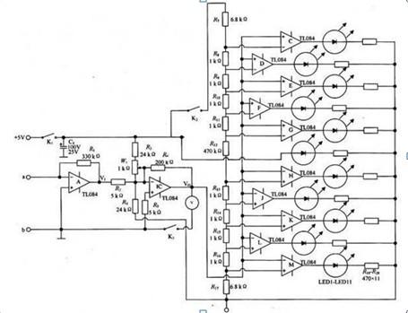 电流检测仪原理图