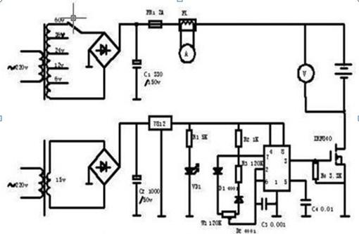 转速传感器电路图