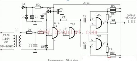 分频器电路图