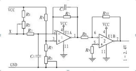 智能式变送器利用了微处理器的运算和存储能力,可对传感器的数据进行处理,包括对测量信号的调理(如滤波、放大、A/D转换等)、数据显示、自动校正和自动补偿等, 微处理器是智能式变送器的核心。 智能式变送器是由传感器和微处理器(微机)相结构而成的 它不但可以对测量数据进行计算、存储和数据处理,还可以通过反馈回路对传感器进行调节,以使采集数据达到最佳。由于微处理器具有各种软件和硬件功能,因而它可以完成传统变送器难以完成的任务。所以智能式变送器降低了传感器的制造难度,并在很大程度上提高了传感器的性能。 以下为一款深
