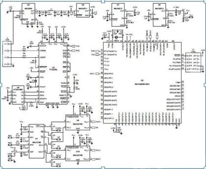 温度测量系统的设计方案电路图