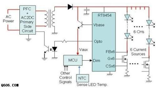 LED路灯电源电路图