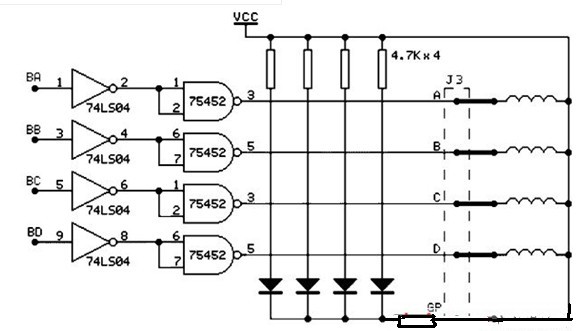 步进电机及其驱动电路原理图