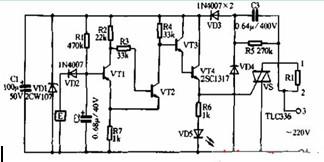 室镜面水气自动清除器电路图