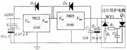电源电路的原理电路图