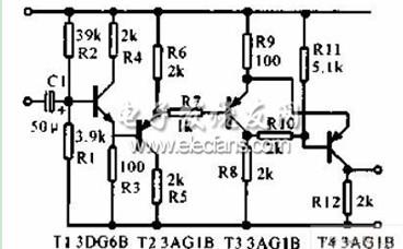 转速传感器直流型电路图