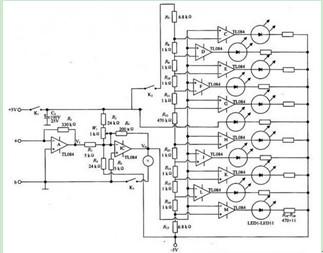 交直流杂散电压和杂散电流瞬变电流检测仪原理电路图