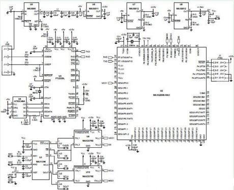 由微控制器组成pc的温度测量系统的设计方案电路图