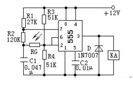 光电控制电路图