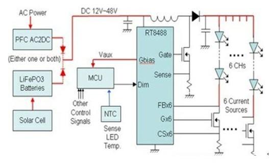 恒流控制电路图