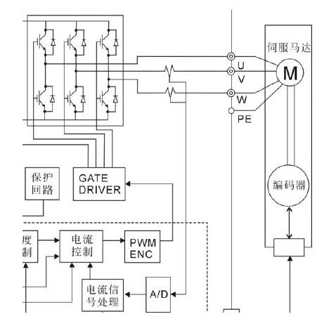 一款用在工业控制系统中调整介质的方向的l9349的电磁阀驱动电路图图片